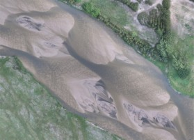 Orthophoto mossaic of the North Loup River, NE, USA