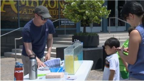 Oceans Day demonstrations!